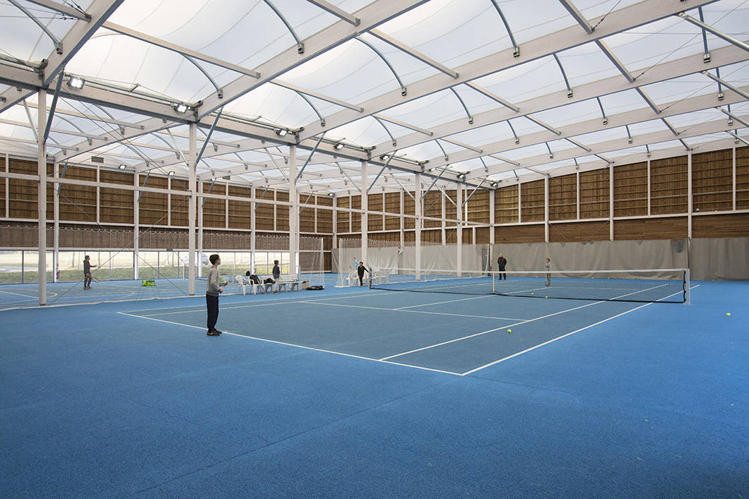 [TESTIMONIAL] CHAVENAY GETS A TWO-IN-ONE SPORTS FACILITY